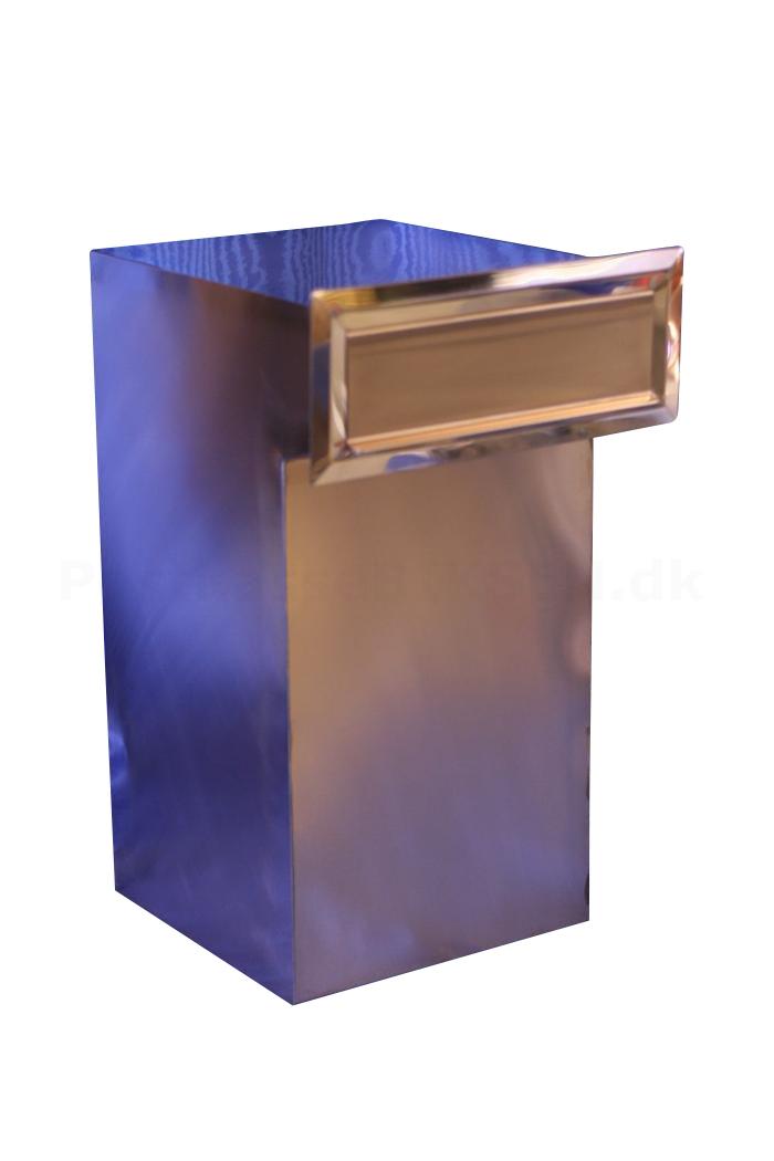 Alle nye Køb Indbygningpostkasse kobber til mur / mur-søjle - special DA14